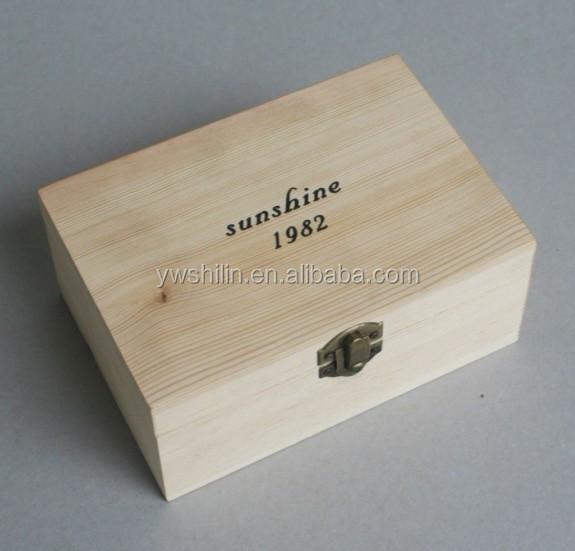 Pine Wood Jewelry Box Wooden Cigar Box Wood Cosmetic Box Small Wooden Gift Boxes Wholesale Buy Cheap Wood Jewelry Box Small Decorative Jewelry
