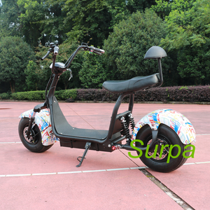 high quality 2000w 1500w fat tire citycoco e scooter/ electric motorcycle offroad/electric scooter city coco
