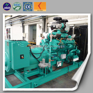 300KW Diesel Generator Set with good engine CE&ISO Power Plant 6 Cylinders export to Russia