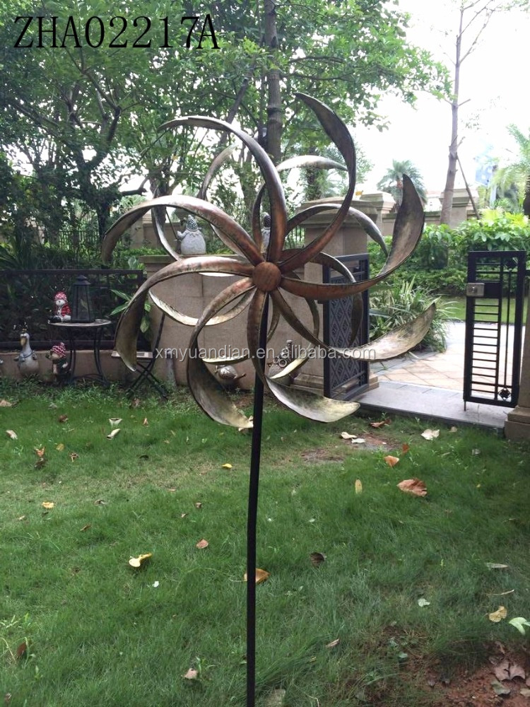 Metal Wind Spinner Garden Decoration Solar Led Light Wind Spinner By Solar  Power For Out Door Garden Stake   Buy Metal Wind Spinner,Color Changing Wind  ...