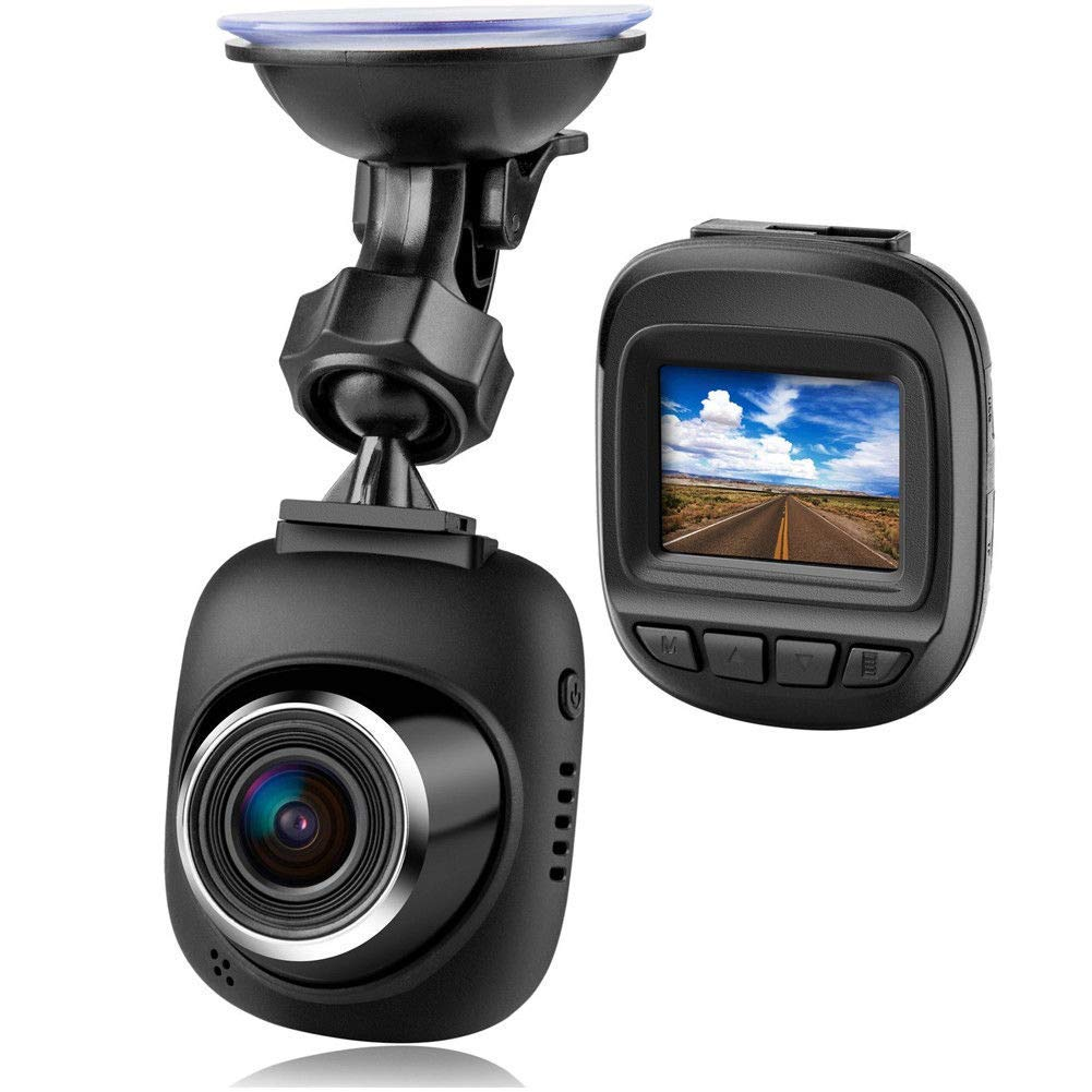 FidgetFidget Dash Cam Fliiners Mini LCD Car Dvr Camera Recorder FHD 1080P Night Vision US