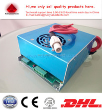 Common use multi protetion MYJG-50 50W CO2 laser power supply Source for most brands 50W CO2 tube DHL ship