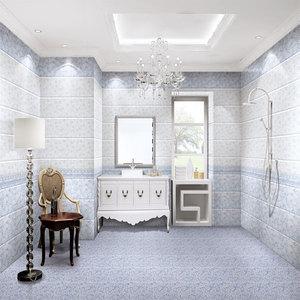 300x600 ceramic tiles tanzania marble wall tiles flower design wall tiles  (65501)