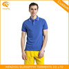 Blue Blank Cheap High Quality Polo Shirt