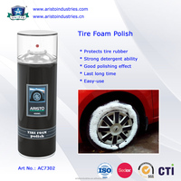 Tire Foam Polish /Liquid Cleaner Car Care Tire Foam Polish