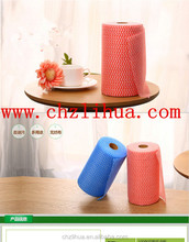 Nonwoven Wipe in Roll, Ideal for Kitchen and Bathroom Cleaning Works