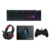 Led gaming keyboard mouse and mousepad combo with customized logo