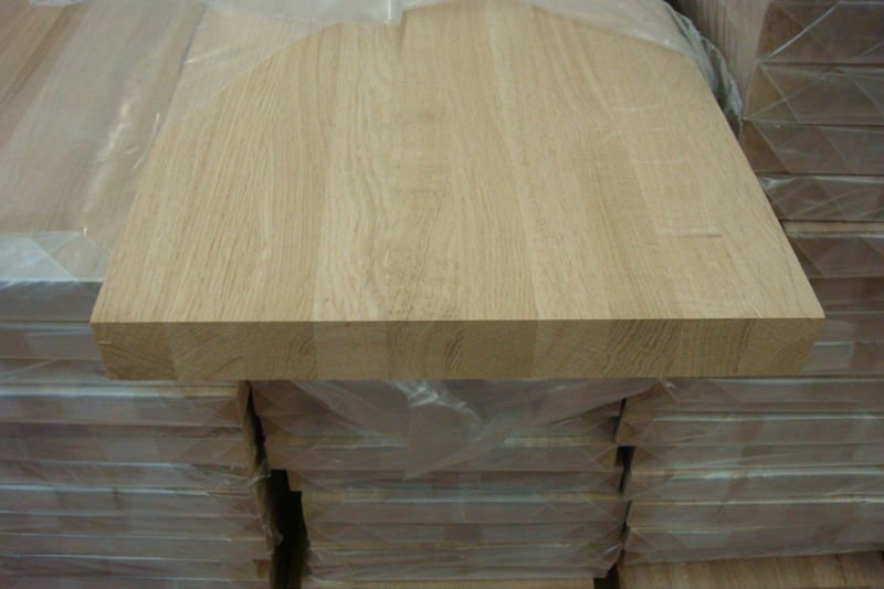 Stair Tread Of Wood With Pine Oak Maple Veneer Wraped Buy Treads Ladder Treads Stair Tread Of Wood Product On Alibaba Com