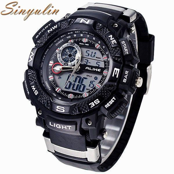 OEM Welcomed Waterproof Outdoor Sports G Style Shock Watches Men Quartz Hours Digital Watch Military LED Wrist Watch