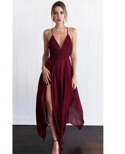 European Style 3 Colors Women Dress Irregular Design Sexy Halter Spaghetti Strap Long Beach Dress