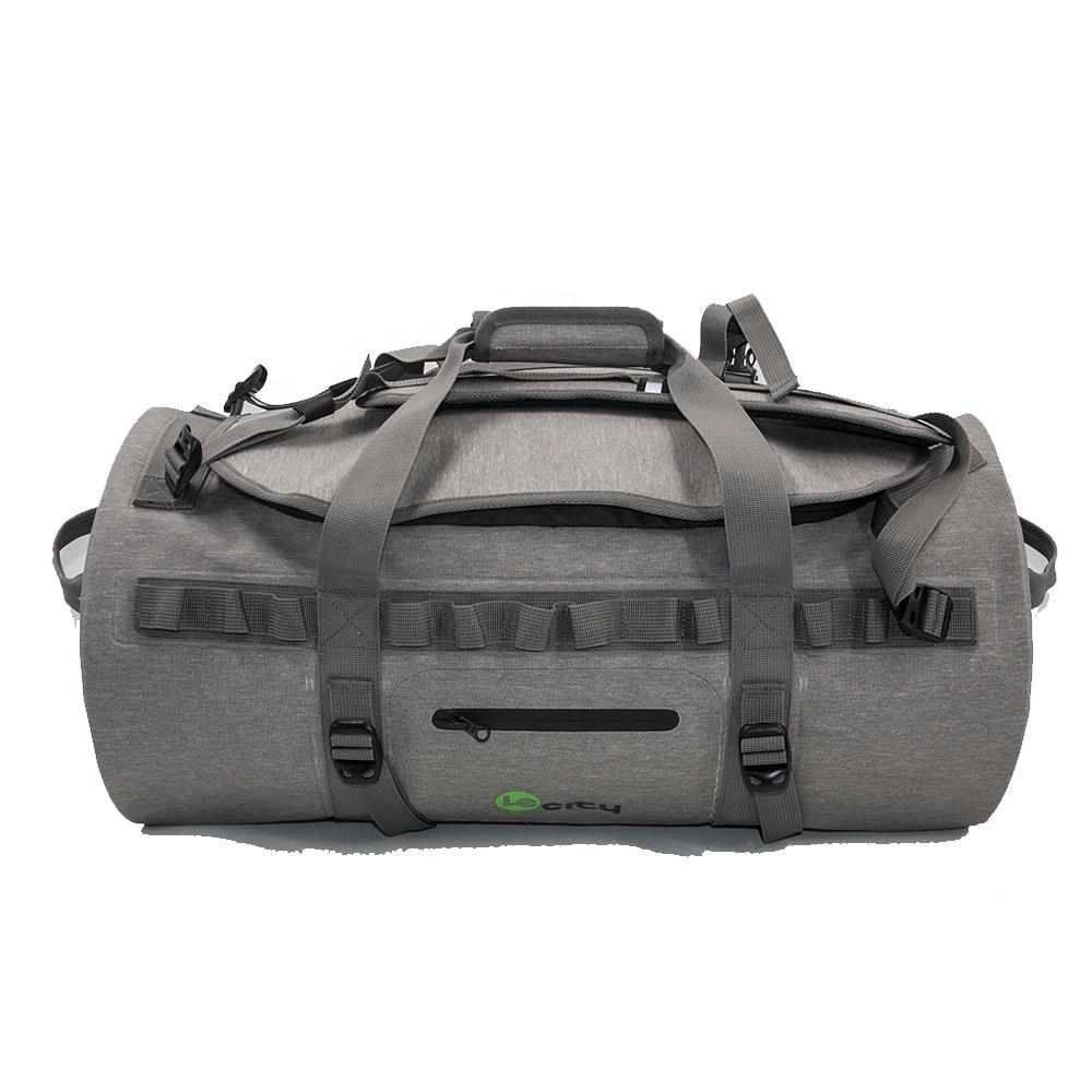 25bbc1650826 Factory Travel Sport Fitness Sack bag TPU waterproof duffel backpack Custom  Logo Mens Duffel Gym Bag