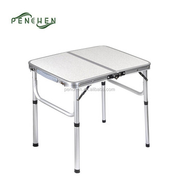 Easy Folding Aluminum Nomade Camping Kitchen Table