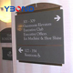 printable hotel use advertising board/signboard ACP/ACM