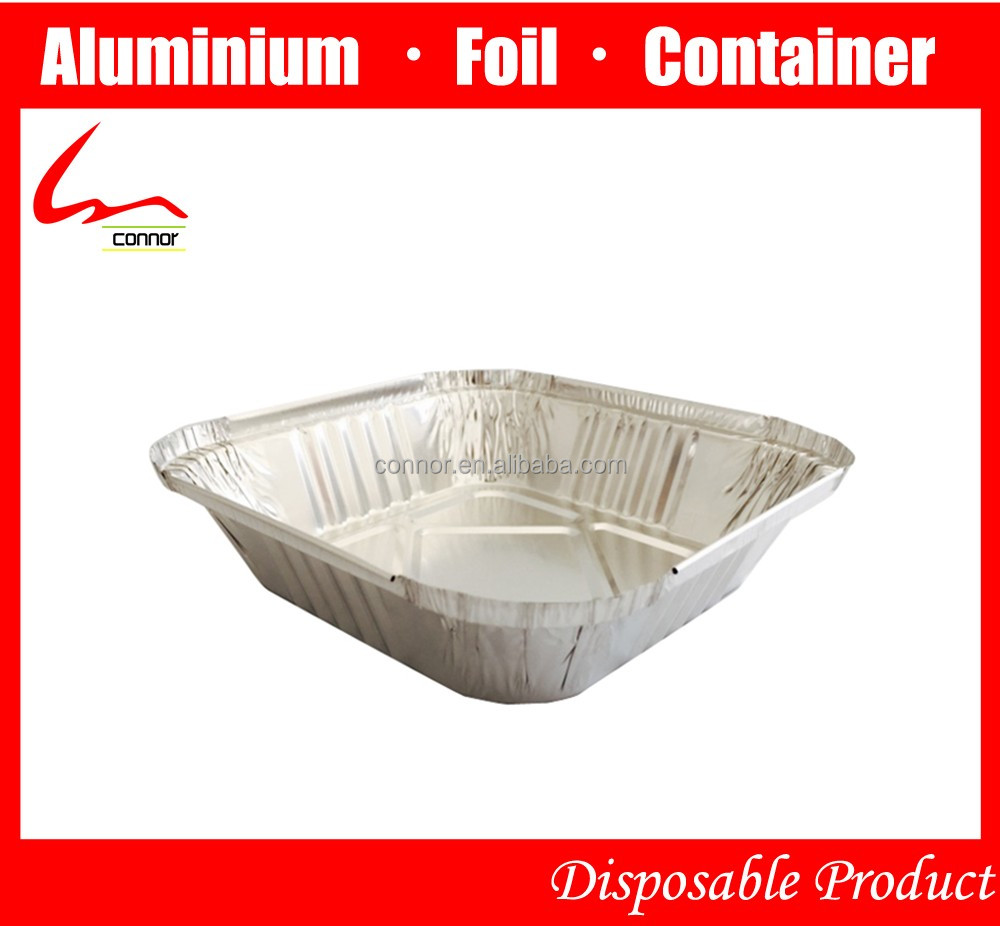 Supplier aluminum foil pans with lids aluminum foil pans for Cuisine aluminium