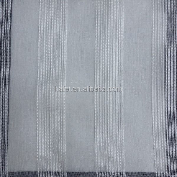Hotel 100% polyester fabric organza embroidery fabric