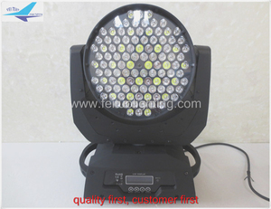 108 led Moving Head 36x3w RGBW DMX512 stage Lighting for DJ Club KTV Bars