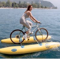 Attractive design reliable quality pedal paddle water bike for sale
