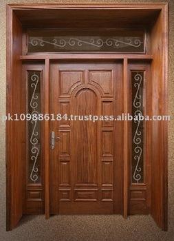 Royal Solid Main Door View Wood Door Interwood Product