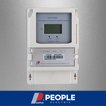 PEOPLE DSSY858/DTSY858 Three phase electronic, electric energy meter,prepaid meter