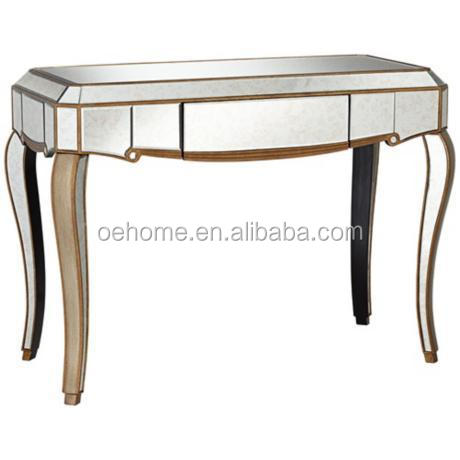 Charmant Antique Gold Mirrored Console Table For Living Room   Buy Antique Gold  Mirrored Console Table,Antique Console Table With Mirror,Classic Console  Table And ...