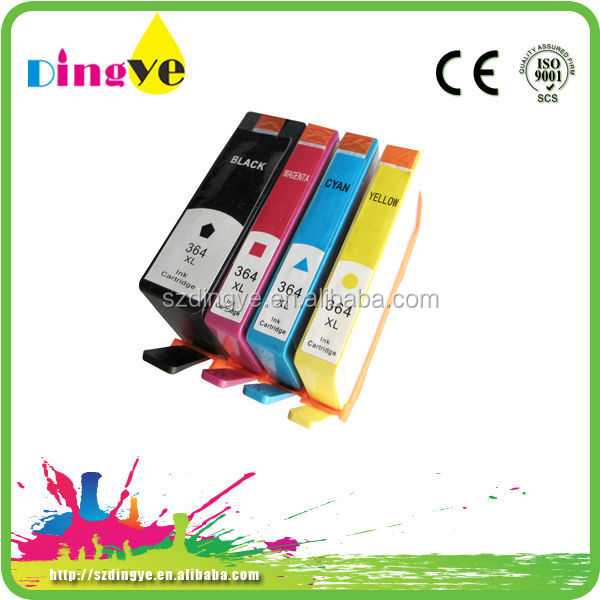 oem for hp 364 ink cartridge dingye factory provided 2 years guaranteed