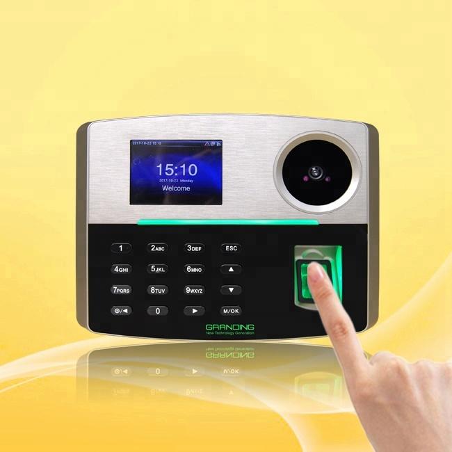 เว็บลายนิ้วมือระบบ Biometric RFID Card Reader เวลาเครื่อง