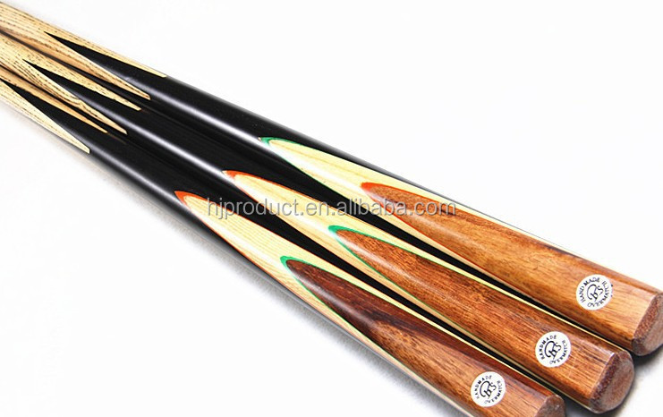 fashion elegant canadian maple 2 pc 1 pc snooker cue pool cue stick