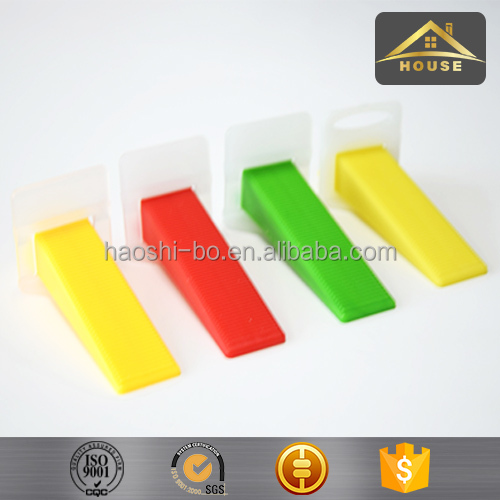 Construction material concrete floor tile leveling system clip tool