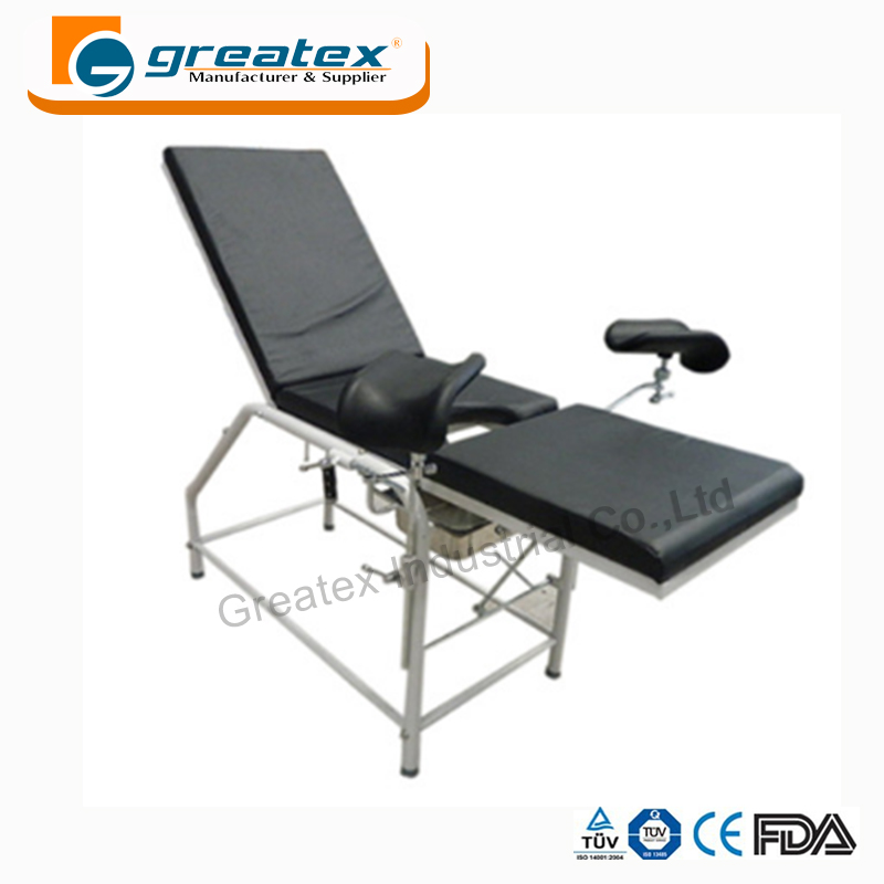 Gynaecological operation bed manual gyn exam table chair
