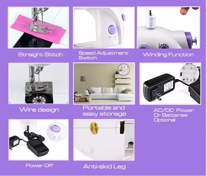 mini electric sewing machine operation manual
