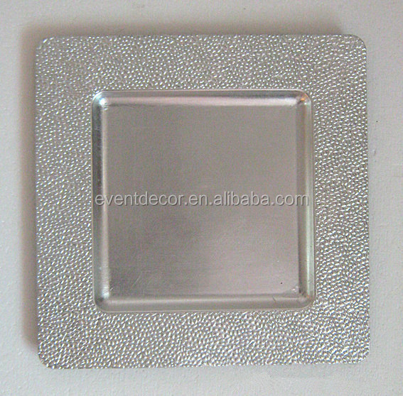 Square Wedding Charger Plate Wholesale Buy Square