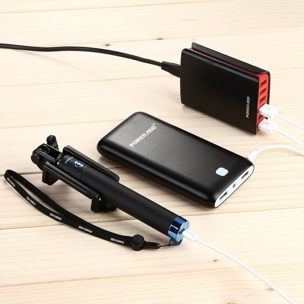 50 Watts 6 Ports Portable Universal Multiport Travel Charger ...