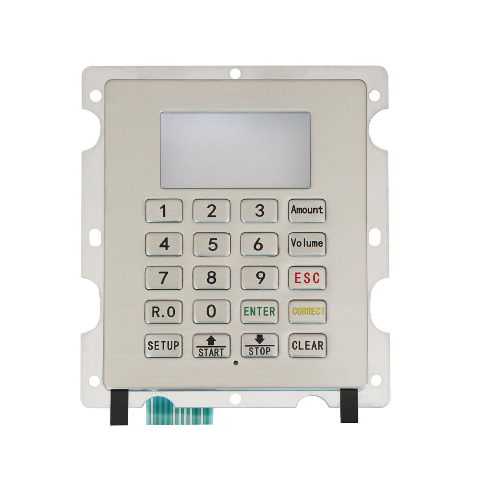 New design rugged oil tanker keypad vandal proof stainless steel keypads with high quality