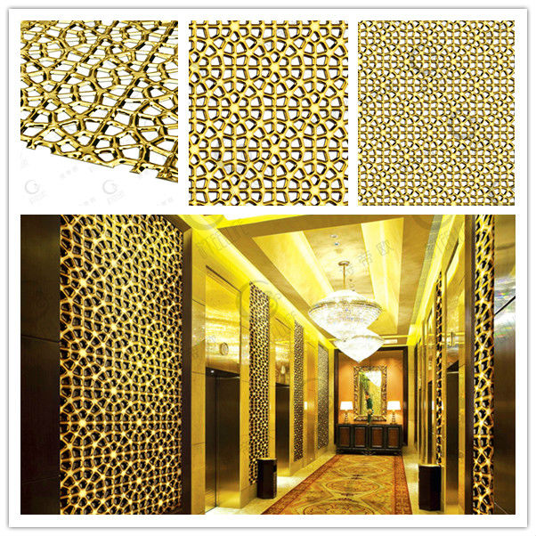 latest new design covering convexity stainless steel decorated high gloss panel for hotel banquet hall - Stainless Steel Hotel Design