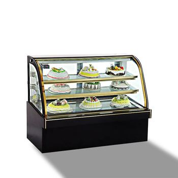 Top Counter Cake Fridge Table Top Glass Display Chiller