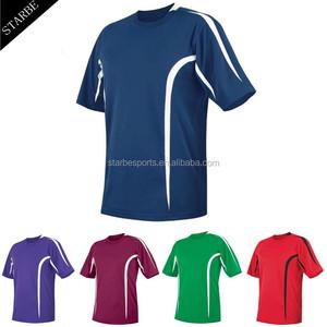 e6262e9b7 custom dry fit interlock sublimation soccer shirt