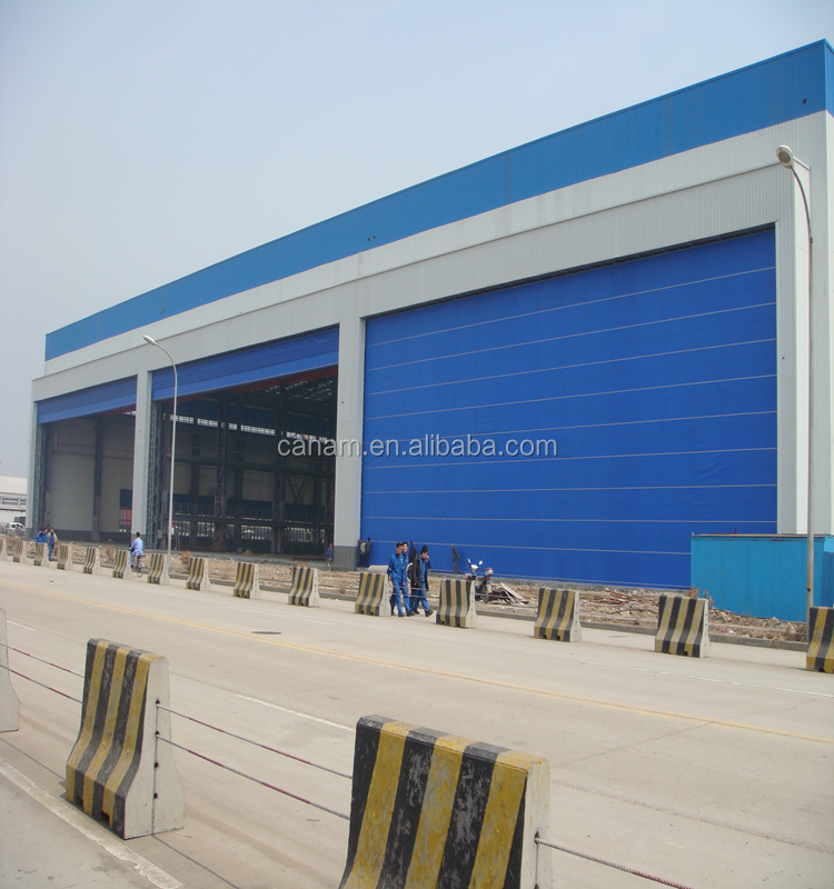 China professional manufacturer industrial doors used