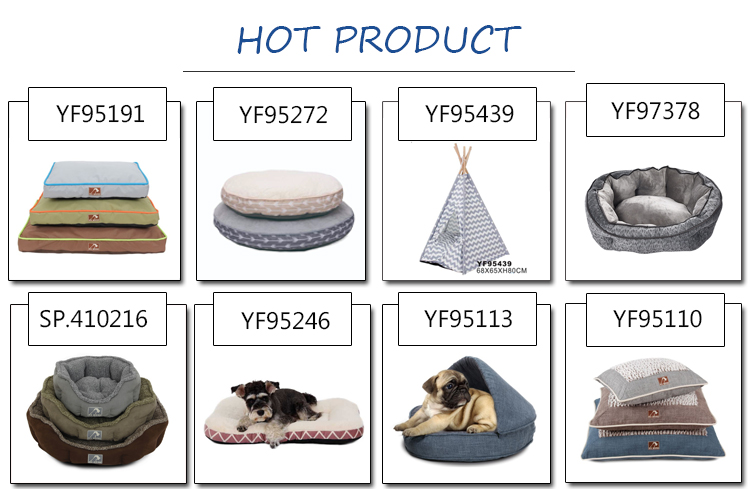 Wholesale pet supplies durable soft dog bed
