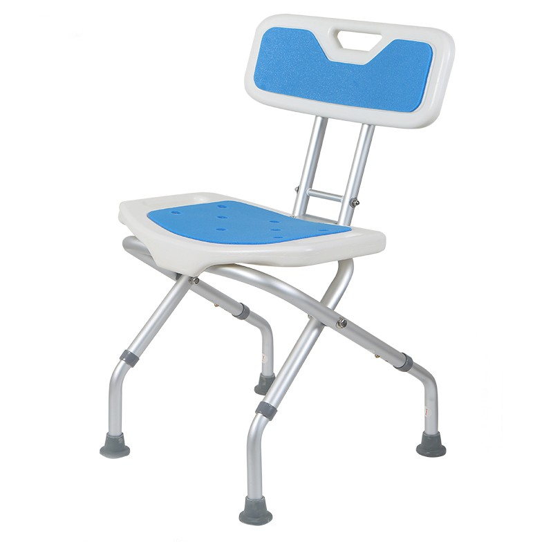 useful folding small handicap bathroom chair with back shower chair