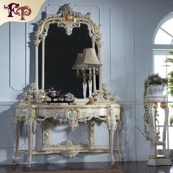 Classic bedroom furniture-luxury classic home furniture console ...