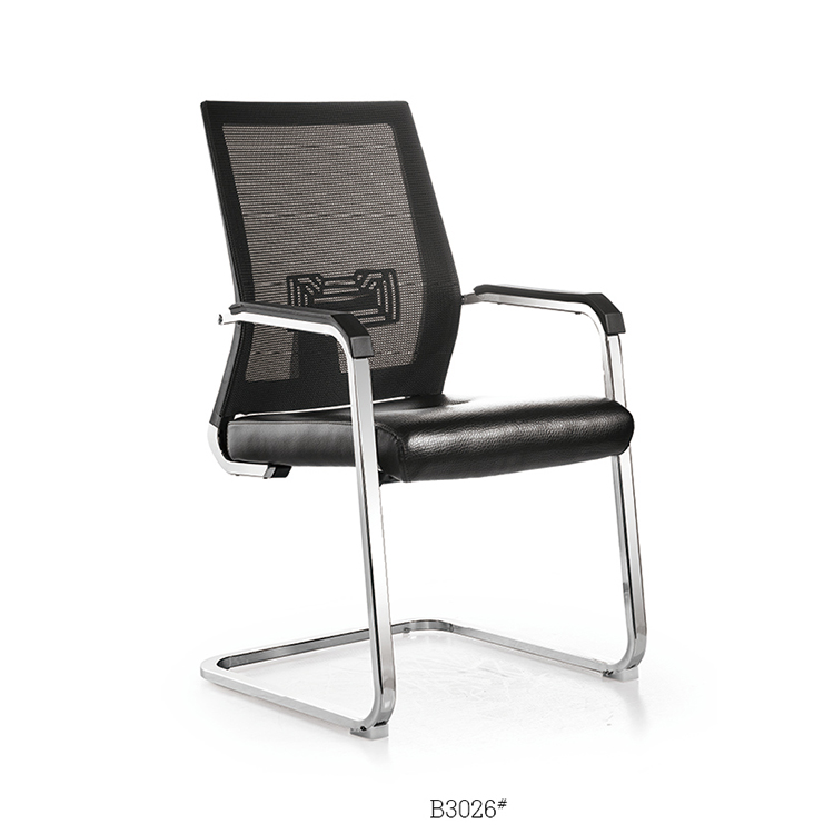 Wholesale white pp plastic ergonomic leather executive office chair