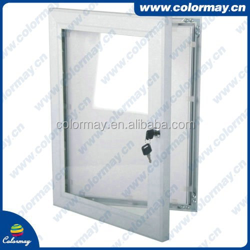 advertising sign board Anodised Silver photo frame Snap Lock Frames