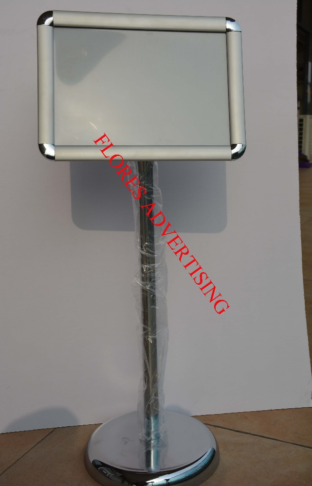 floor standing adjustable hot popular lobby sign stand menu