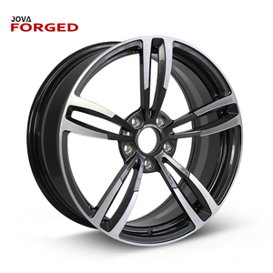 Forged Wheels 2 Piece Performance Custom 5x105 Gold Colored Car 5 Hole Alloy Wheel Rim