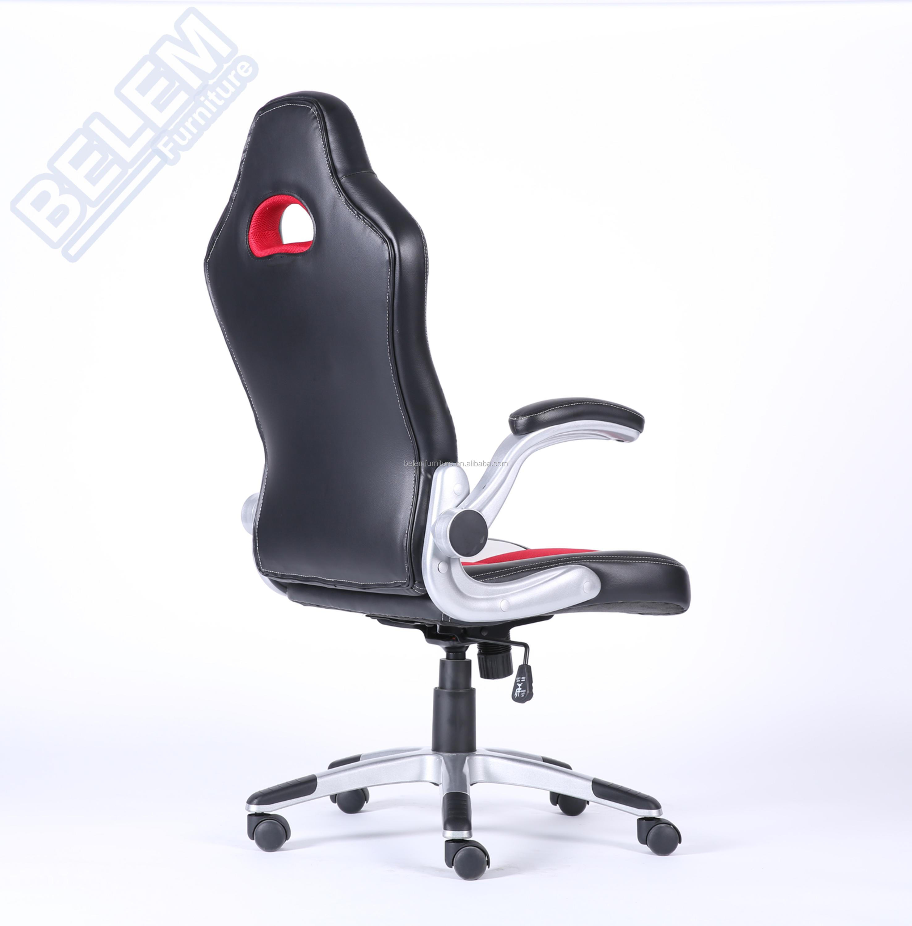 PU Leather Computer Office Chair Sport Racer Gaming chair with fashion design-Willianms-BL3304