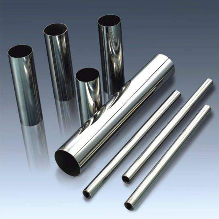 201 304 polished stainless steel coiled handrail pipe welded round tube