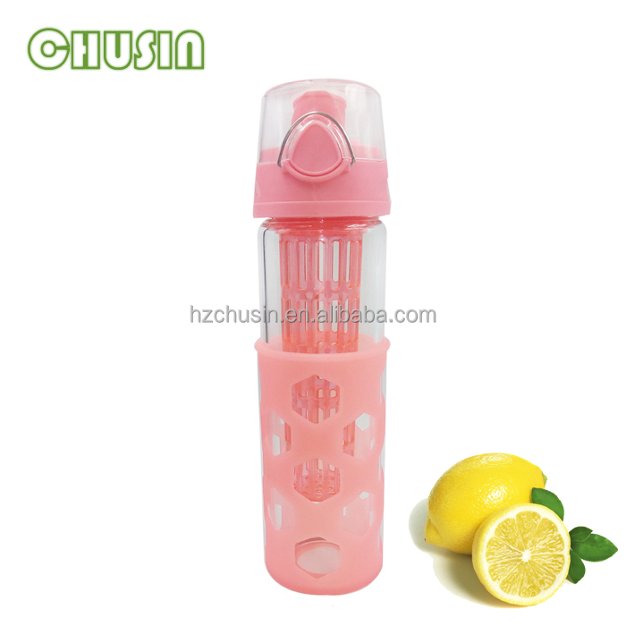 Bpa Free Small Fruit Infusion Water Bottle Sports Water Bottles Glass Water  Bottle - Buy Infuser Water Bottle,Hot Sale Bpa Free 800ml Fruit Infuser
