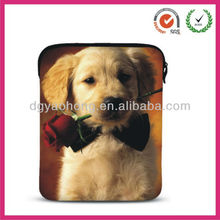 Kids adore cute dog printing neoprene laptop computer bags (factory)