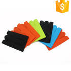 Phone Accessory Silicone Card Holder Wallet 3m Adhesive Smart Card Pocket
