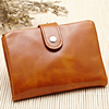 RFID blocking lady moroccan leather wallet cell phone case money bag